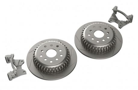 TeraFlex Teraflex JK/JKU Rear Performance Slotted Big Rotor Kit