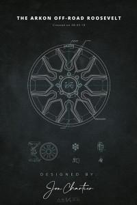 ARKON Blueprint Posters - 20x30