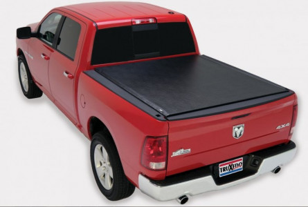 TruXedo Lo Pro QT Soft Roll-up Tonneau Cover (05-07 Dodge Dakota/06-08 Dodge Raider Extended Cab   6'6
