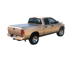TruXedo Lo Pro QT Soft Roll-up Tonneau Cover for 08-11 Dodge Dakota w/Track System with 6.5 Bed