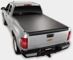 TruXedo Lo Pro QT Soft Roll-up Tonneau Cover for 07-13 GM Full Size 8.0 Bed w/Track System