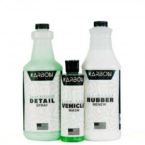 KARBON Wheel Shine kit for Painted Wheels