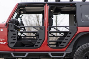 Rough Country Jeep Front & Rear Steel Tube Doors (07-18 Wrangler JK)