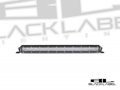 20 inch Black Label Lighting Single Row LED Light Bar