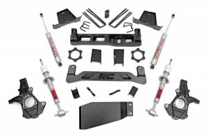 "Rough Country 7.5"" Suspension Lift Kit - Premium N2.0 Rear & Premium N2.0 Struts"