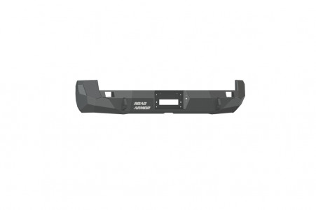 Road Armor Stealth Rear Winch Bumper - Texture Black   WARN M8000 or 9.5xp (05-15 Toyota Tacoma)