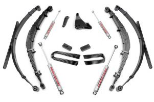 "Rough Country 6"" Ford Suspension Lift System (Diesel Or V10) - Production Date After 3-1-1999"