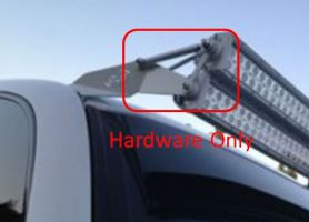 50 inch dual stacked led light bar hardware only mozeypictures Choice Image