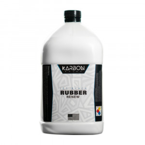KARBON Jet Black Rubber Renew - Gallon Bottle
