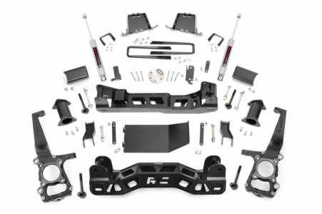 "Rough Country 6"" Ford Suspension Lift Kit"