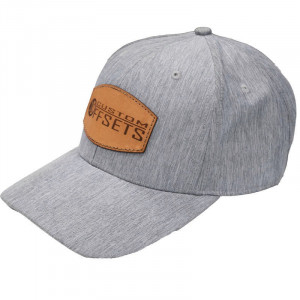 Grey Heather and Leather CO Hat
