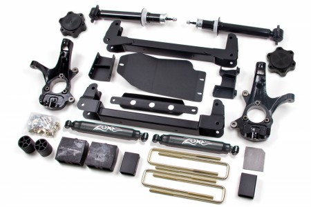 "Zone 6.5"" Suspension System w/   Lift Struts Chevy/GMC 1500 2007-2013 4WD"