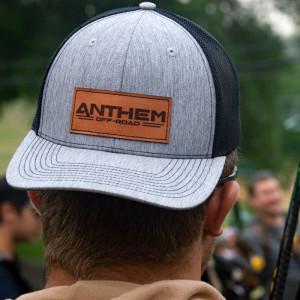 Anthem Black/Grey Patch Trucker Hat
