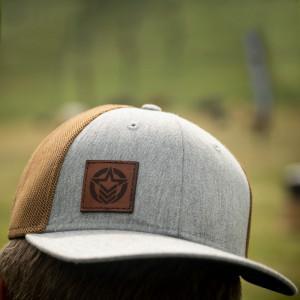 Anthem Brown/Grey Patch Trucker Hat