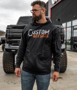 Custom Offsets Gradient Hoodie
