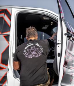 Custom Offsets Warrior Garage Tee - Black