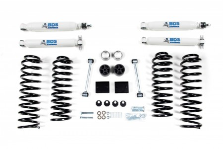 "BDS Suspension 2"" Suspension Lift Kit - Jeep Wrangler JK 4dr (07-11)"