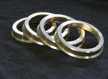 Billet Aluminum Hub Rings Set of 2 121.3mm to 125.2mm