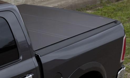 LOMAX Hard Tri-Fold Tonneau Cover Dodge Ram 1500 5