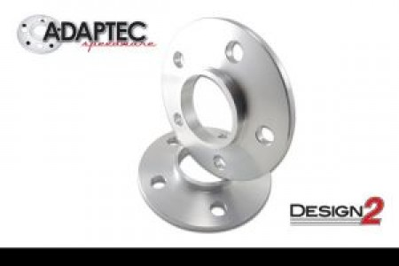 """Aluminum 1/2"""" BORA Spacers (pair-2) For 8 Lug Applications - One Piece"""