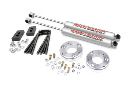 "Rough Country 2"" Ford Leveling Lift Kit Expedited Shipping"