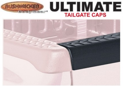 Bushwacker DiamondBack Ultimate TailGate Cap - OE Matte Black