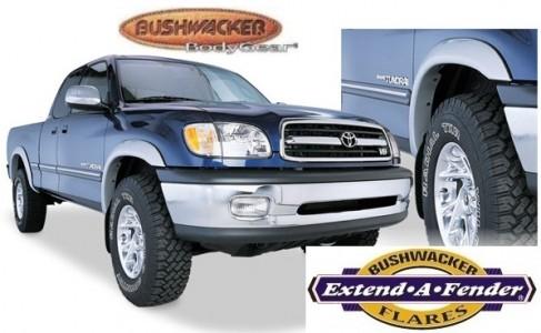 Bushwacker Extend-A-Fender Flare - Set of 4 - Matte Black