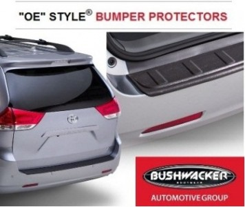 Bushwacker For 2011-2017 Toyota Sienna OE Style Bumper Protector 34015