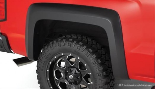 Bushwacker Extend-A-Fender Flare - Set of 4 - OE Matte Black