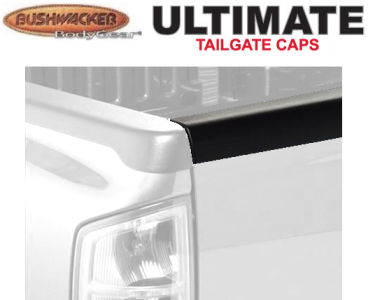 Bushwacker Smoothback Ultimate TailGate Cap - OE Matte Black
