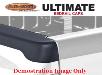 Bushwacker Smoothback Ultimate BedRail Cap - OE Matte Black