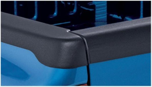 Bushwacker Smoothback Ultimate BedRail Cap - OE Matte Black