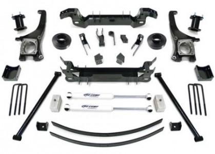 "Pro Comp 7"" Stage I Lift Kit w/  Es9000 Shocks 07-16 6 Toyota Tundra Pro Comp Suspension"
