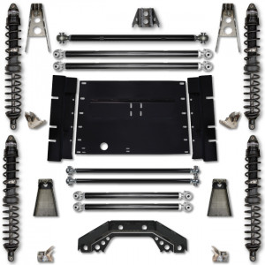 Rock Krawler LJ 4.5 Inch Trail Runner Stg 1 Coilover Long Arm Lift Kit