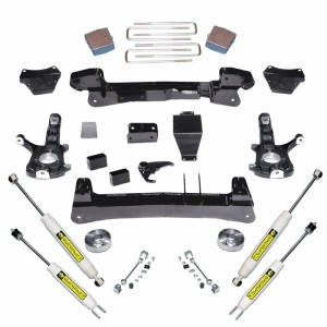 "SUPERLIFT 6"" Lift Kit Knuckle Kit w/  Superide Shocks"
