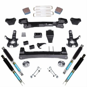 "SUPERLIFT 6"" Lift Kit Knuckle Kit w/  Bilstein Shocks"