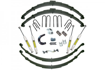 "SUPERLIFT 12"" Lift Kit Rear Spring Kit w/  Superide Shocks"