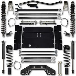 Rock Krawler TJ 4.5 Inch X Factor Long Arm Stg 1 Lift Kit w/ Coilover Shocks