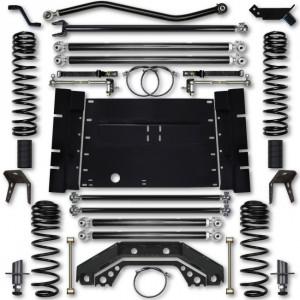 Rock Krawler TJ 4.5 Inch X Factor Long Arm 5 Inch Stretch Lift Kit