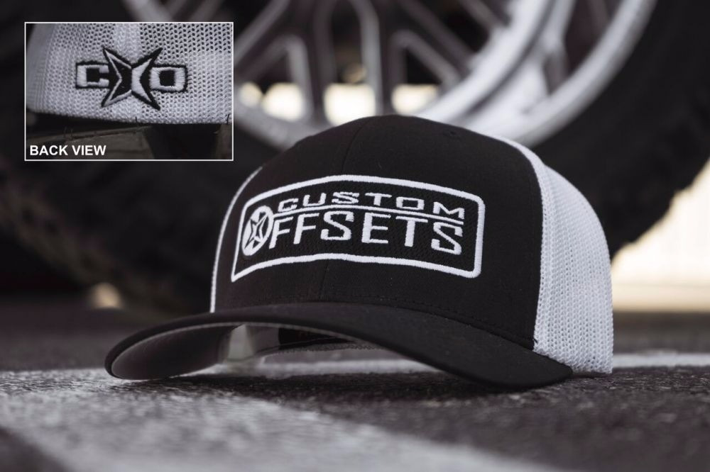Add Gear or White Decals? ADD Custom Offsets Fitted Trucker - One Size Fits All
