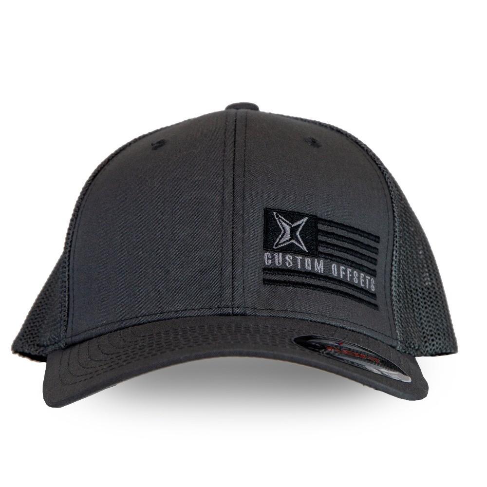 """Custom Offsets """"Flag"""" Trucker Hat"""