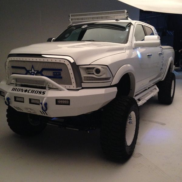 50 inch dual stacked led light bars complete setup for dodge ram aloadofball Gallery