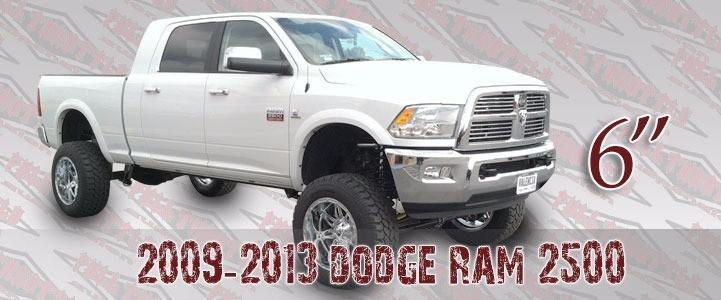 "Full Throttle Suspension FTS 2013-2014 3500 4"" Dodge 4WD Gas Or Diesel"