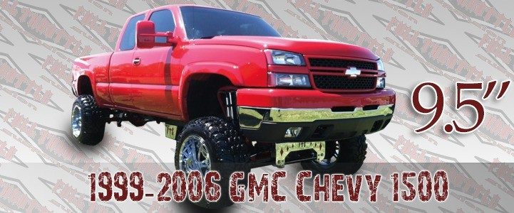 "Full Throttle Suspension FTS 1999-2006 9.5"" Chevy / GMC Silverado / Sierra 1500"