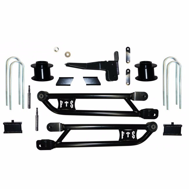 "Full Throttle Suspension FTS 2013-2014 3500 4"" Radius Arm Dodge 4WD Gas Or Diesel"