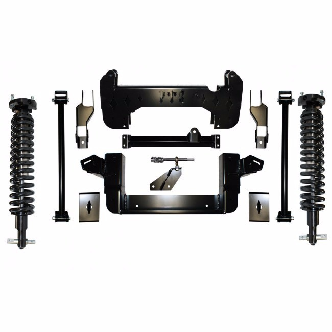 """Full Throttle Suspension FTS 2007 10"""" Chevy / GMC 1500 2WD w/   Coilovers"""