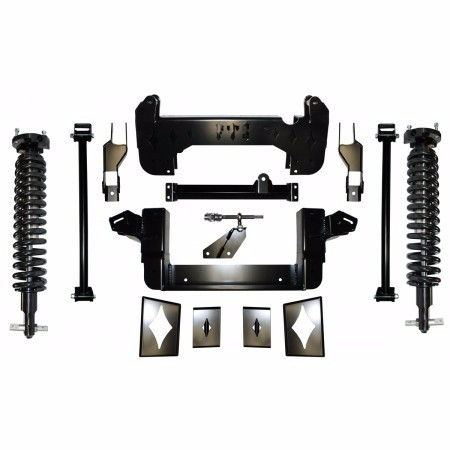 "Full Throttle Suspension FTS 2007 10"" Chevy / GMC 1500 4WD w/   Coilovers"