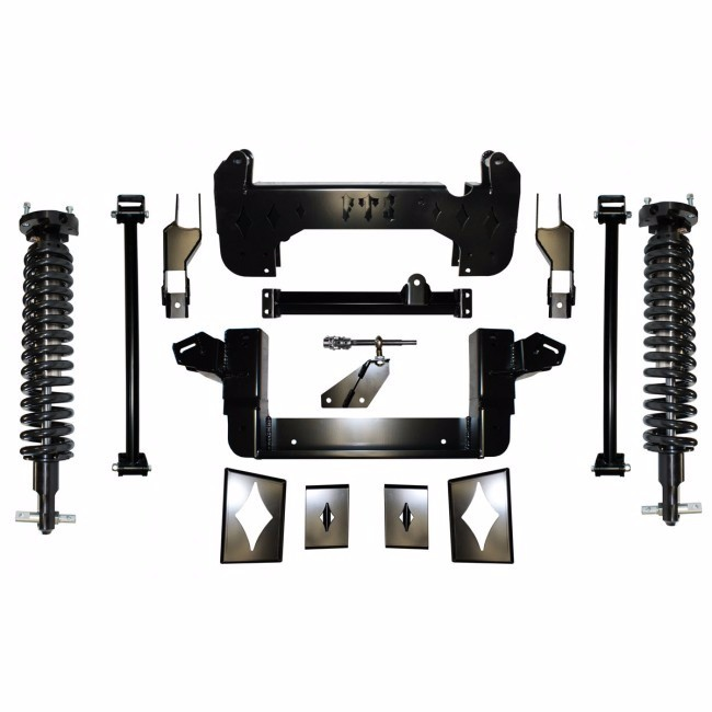 "Full Throttle Suspension FTS 2008-2013 10"" Chevy / GMC 1500 4WD w/   Coilovers"
