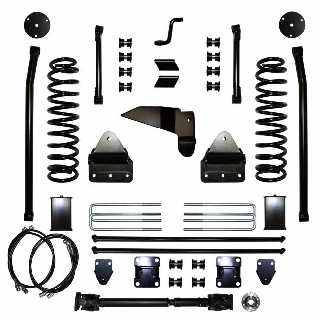 "Full Throttle Suspension FTS 2009-2013 2500 & 2009-2012 3500 8"" Y Link Long Arm Dodge 4WD Gas"