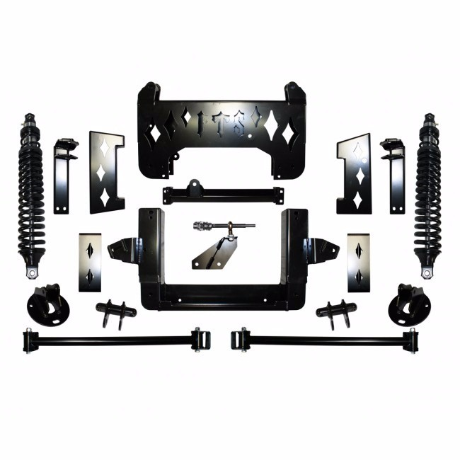"Full Throttle Suspension FTS 2007 15"" Chevy / GMC 1500 4WD w/   Coilovers"